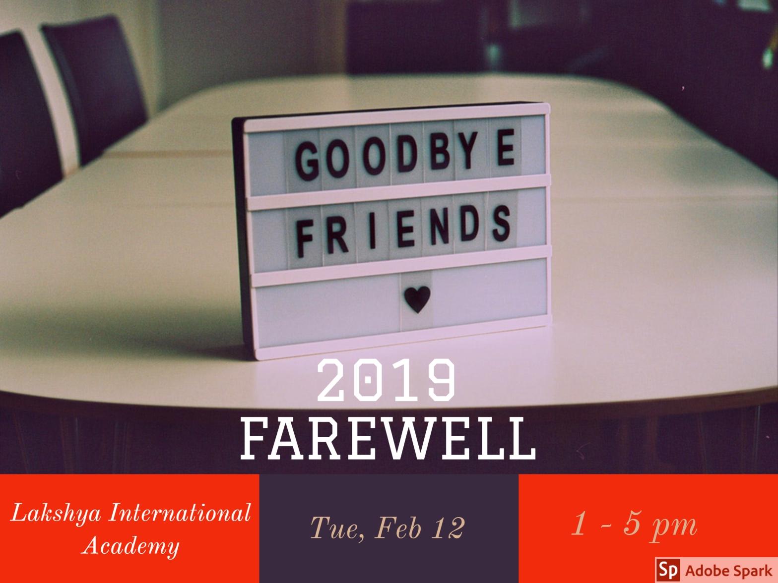 LIA School Farewell